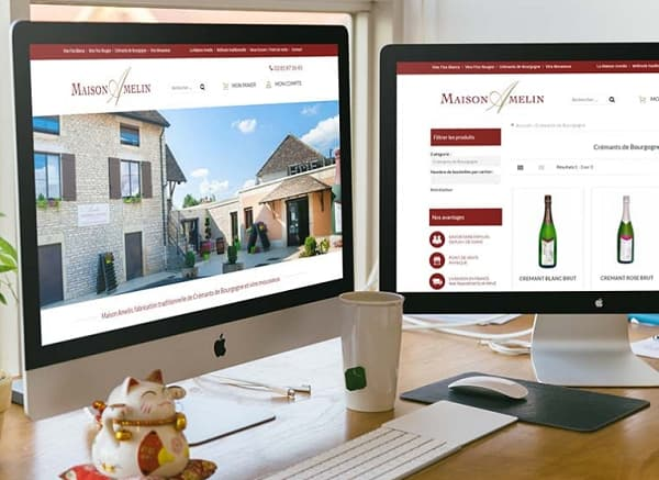 E-commerce Maison Amelin