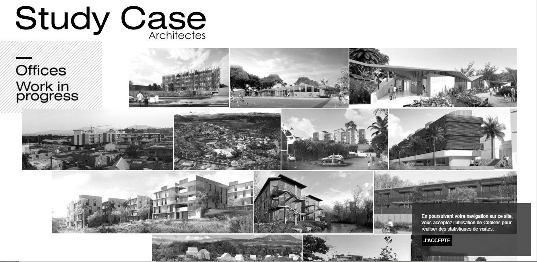 Site vitrine Study Case Architectes