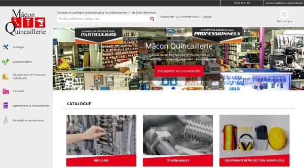 Création de site ecommerce sur mesure btoc et btob à Mâcon 71
