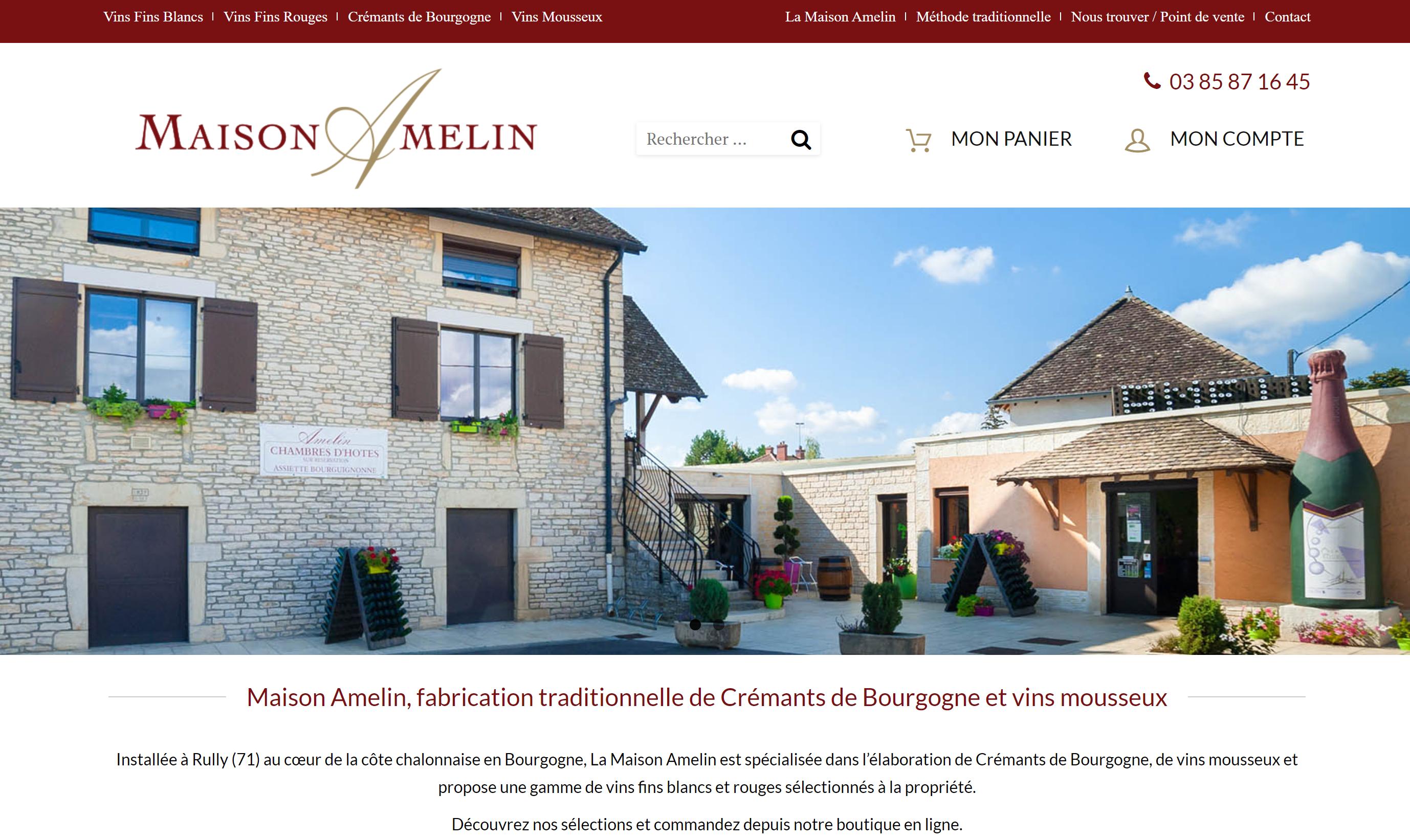 Création d'un site e-commerce à Chalon-Sur-Saône